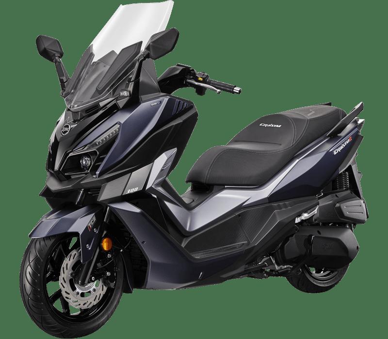 MAXSYM 600i ABS Hyper Scooter   Matná černá
